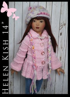 "Ooak Spring Handmade Fashion FOR Helen Kish 14"" BY Maggie AND Kate Create 