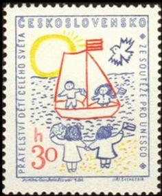 """""""Ceskoslovensko"""" Children-Unesco -lbk-"""