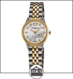 Raymond Weil 5670-STP05985 - Reloj para mujeres, correa de acero  ✿ Relojes para mujer - (Lujo) ✿