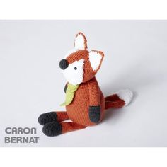 Free Pattern Bernat Francis The Fox | Hobbycraft