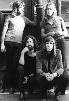 Pink Floyd Black and white Photo shoot