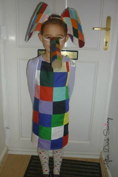 Elmer Dressing Up Outfit for World Book Day