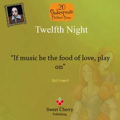 an analysis of the types of love in william shakespeares play twelfth night Twelfth night opens in a scene with orsino, duke of illyria the duke is love-sick   music be the food of love, play on give me excess of it (11) later, in the.