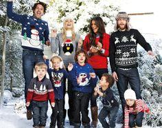 Christmas Jumpers: A moda do Natal Christmas Jumper Day, Christmas Knitting, Christmas Carol, Family Christmas, Christmas Photos, Christmas Ideas, Christmas Jumpers, Christmas Sweaters, Childrens Christmas