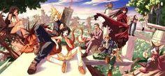 Znalezione obrazy dla zapytania final fantasy 7 personaggi