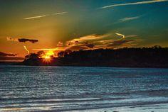 """Winter Sunset""   Off Magnolia Beach   Gloucester, Massachusetts  more images @ www.coast2coastimages.com"