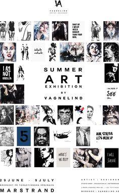 VAGENLIND art exhibition at exhibition 2015