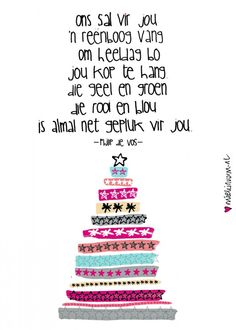- 25 december > Illustration: by www. Birthday Quotes, Birthday Wishes, Birthday Cards, Writing Lyrics, Afrikaanse Quotes, Making Words, Happy Birthday Pictures, Best Friend Quotes, Work Inspiration
