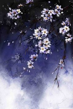 Art from Water Colours Scenery Wallpaper, Flower Wallpaper, Nature Wallpaper, Wallpaper Backgrounds, Art Asiatique, Nature Artwork, Flower Backgrounds, Pretty Wallpapers, Anime Scenery