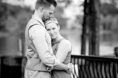 Black and white engagement Photo By Eternal Light Photography