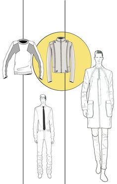JAA design original fashion illustrations.