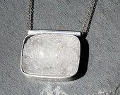 Sterling Drusy Quartz Necklace