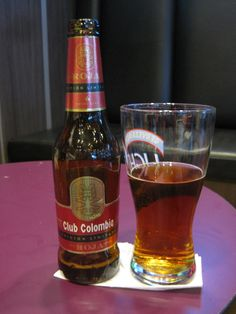 colombian beer | Beer 135 - Club Colombia Edicion Limitada - Rojo