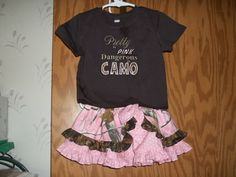 pink realtree camo peek a boo skirt w/ by gmascreations on Etsy, $45.00