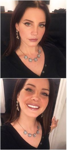Lana Del Rey sent these selfies to V Magazine before she went on stage in NYC #LDR
