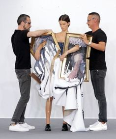 Viktor Rolf Haute Couture Collection Video- crossing border between fashion and art