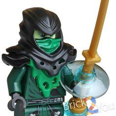 Lego Ninjago Evil Green Ninja Lloyd Possessed by Morro 70732 70736 #LEGO