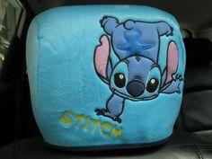 Lilo Stitch Car Accessory 2 Pcs Head Rest Covers Somersault | eBay