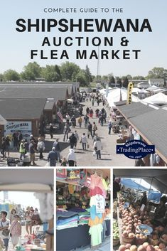 Everything you need to know about the Midwest's Largest Flea Market in Shipshewana, Indiana Shipshewana Indiana, Vacation Places, Vacations, Amish Country, Video Games For Kids, Koh Tao, Fleas, Back Home, Viajes