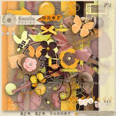 Bye Bye Summer Kit by Kamilla Design at digiscrapbooking.ch - 2014