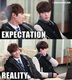 """They are just too cute. Lee Min Ho and Kim Woo Bin ♡ #Kdrama - """"HEIRS"""" / """"THE INHERITORS"""""""