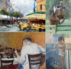 Pinturas por Virgílio Dia/ Painting by Virgílio Dias