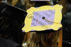 """Friends"" themed graduation cap"