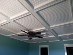 9 Drop Ceiling Alternatives Everyone Should Try If you're looking for an alternative to a drop ceiling that will add to the beauty of your home then here are 10 interesting drop ceiling alternatives. Drop Ceiling Basement, Drop Down Ceiling, Basement Ceiling Options, Drop Ceiling Tiles, Dropped Ceiling, Basement Walls, Ceiling Ideas, Basement Ideas, Ceiling Decor