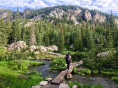 Bear Lake Corridor Trails in Rocky Mountain National Park