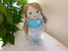 Ручная одежда Текстильная кукла Настенька
