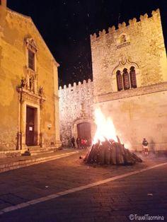 Notte di Natale 2013 - Falò in Piazza Santa Caterina