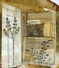 Altered Book Art Diy Handmade Journals New Ideas Handmade Journals, Handmade Books, Handmade Notebook, Handmade Crafts, Handmade Rugs, Somerset Place, Fabric Journals, Art Journals, Journal Art