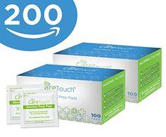 Care Touch Sterile Alcohol Prep Pads, Medium 2-Ply - 200 ... https://www.amazon.com/dp/B06XS3XNMY/ref=cm_sw_r_pi_dp_x_3bvAzbKXXPW68