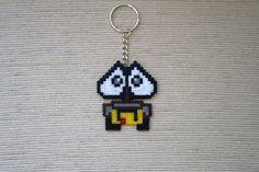 Wall-E Hama Beads Wall-E Keychain Wall-E Gift by GoAmigurumis