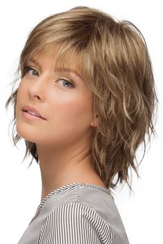 Jones, Synthetic Pure Stretch Cap Wig by Estetica Designs - Choppy Bob Hairstyles, Bob Hairstyles For Fine Hair, Hairstyles Men, Korean Hairstyles, Hairstyles Videos, American Hairstyles, Hairstyle Short, School Hairstyles, Natural Hairstyles
