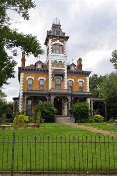 Lebold Mansion, Abilene, Kansas.
