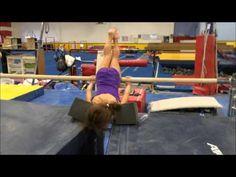 11 21 2015 Preteam bar Drills - YouTube Gymnastics Bars, Gymnastics Things, Preschool Gymnastics, Tumbling Gymnastics, Gymnastics Coaching, Back Handspring Drills, Reck, 21st, Exercise