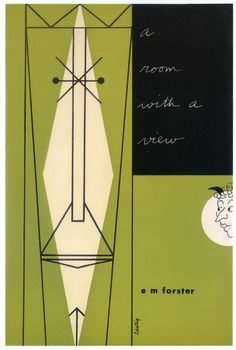 A Room With a View by EM Forster, cover design by Alvin Lustig