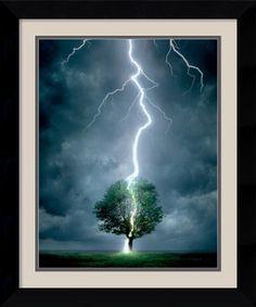 Lightning Framed Print by Linda Davey Framed by Amanti Art, http://www.amazon.com/dp/B007NCK74W/ref=cm_sw_r_pi_dp_VxZBsb0T8Q23X