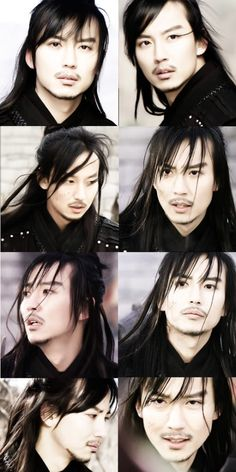 Kim Nam Gil in Queen Seon Deok as Bidam...loved this role, loved this drama