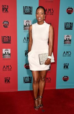 Pin for Later: It May Be Fall, But You Wouldn't Know It Judging From These Stars' Outfits Aisha Tyler Aisha Tyler at the American Horror Story: Freak Show premiere.