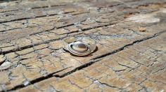 anel de prata saturno
