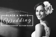 Free Aesthetic Black And White Photoshop Actions by AestheticArtz.deviantart.com on @DeviantArt