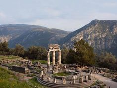 Delphi, Greece Photographic Print by Manuel Cohen - AllPosters.ca