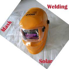 Cheapest price Solar Auto darkening Welding Helmets electric welding hood mask tig,mig , arc welding face shields  distributor