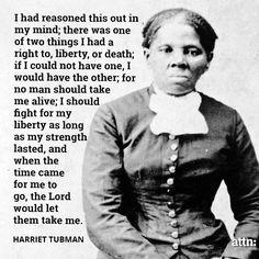 """Harriet Tubman Quotes Adorable You'll Be Free Or Die""""  Harriet Tubman #quote #lifehack"""