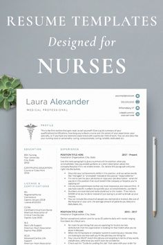Nursing Notes Discover Nurse Resume Templates Nursing is a competitive field which is why I created these unique nursing resume designs resume writing guide to help you stand out from the stack of boring resumes! Bsn Nursing, Nursing School Notes, Pediatric Nursing, Nursing Career, Travel Nursing, Nursing Tips, Nursing Schools, Nursing Major, Pharmacology Nursing