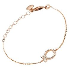 Rose Gold Bracelet from Clio Blue... dainty and fun