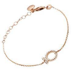 Delicate #ClioBlue Fish bracelet in #rosegold