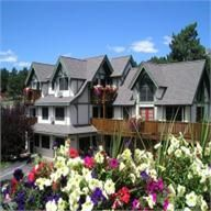 This is a picture of the Appenzell Inn in Estes Park,Colorado. My husband and I spent our honeymoon here. Its right next to the mountains and it was an absolutely wonderful stay!!